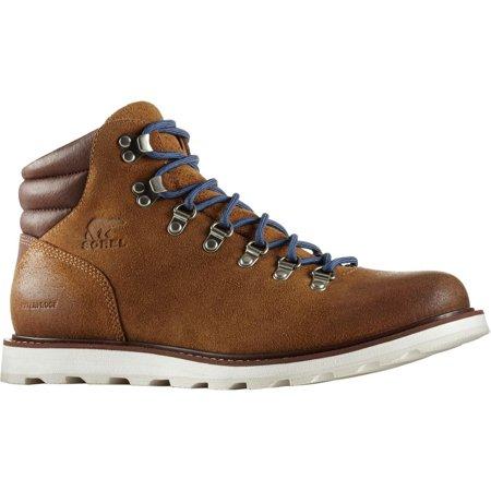 fcbcd7061ea SOREL - Men's Madson Hiker Waterproof Boot, Camel Brown - 11.5 D(M) US