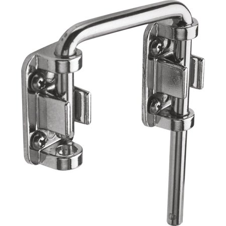"""Defender Security U 9847 Patio Sliding Door Loop Lock – Increase Home Security, Install Additional Child-Safe Security, 2-1/8"""" Hardened Steel Bar.., By PrimeLine Products ()"""