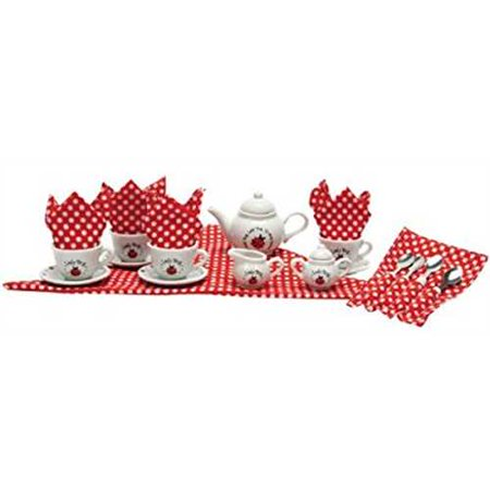 Ladybug Tea Set (Halloween Tea Set)