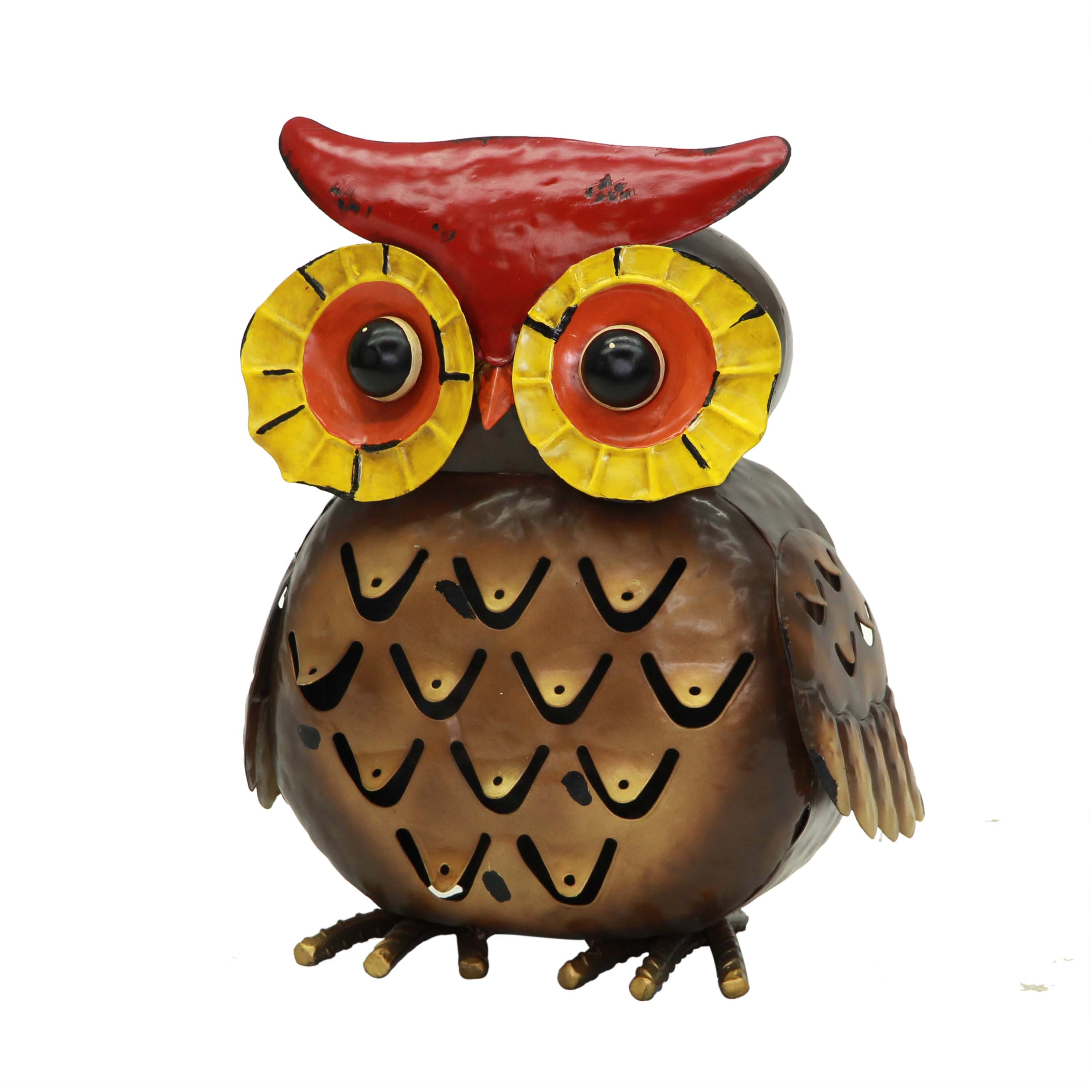 Mainstays Outdoor Metal Owl Statuary