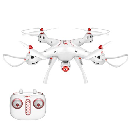 Syma X8sw Wifi Fpv 2 4Ghz Rc Drone Quadcopter With 720P Hd Camera And Altitude Hold Function   White