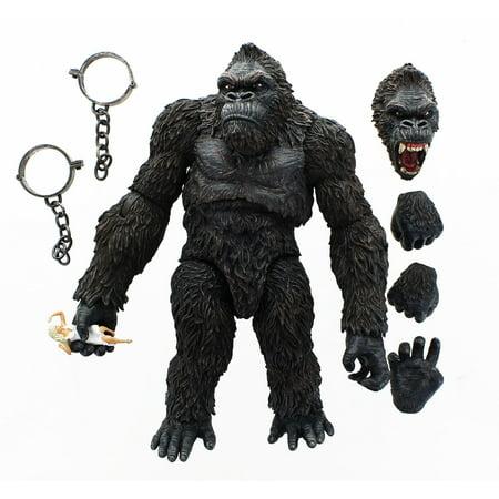 King Kong of Skull Island 7-Inch Action Figure (Kings Island Halloween Dinosaurs)