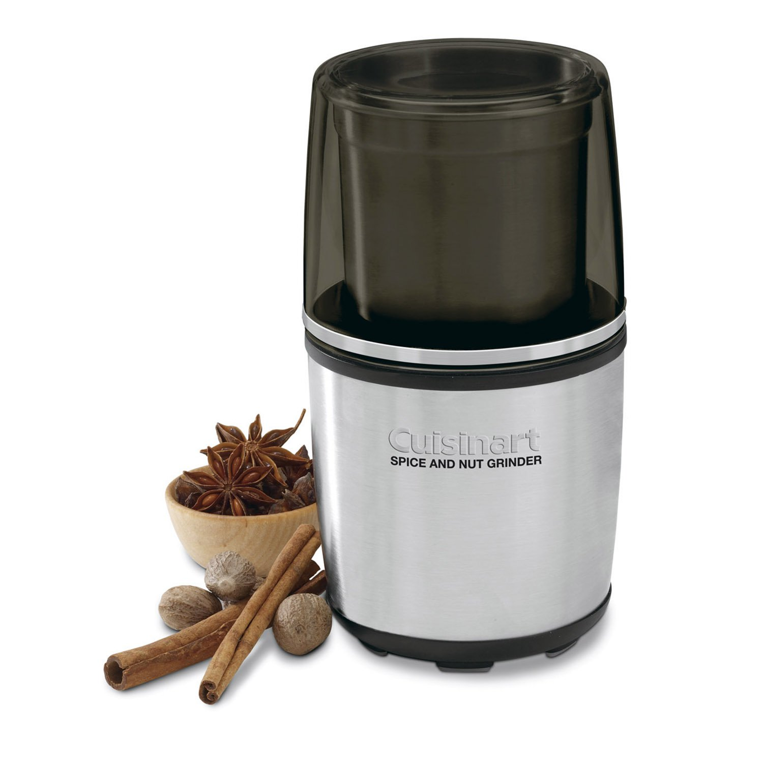 Cuisinart Kitchen Freshly Grounded Spice and Nut Grinder (Certified Refurbished)