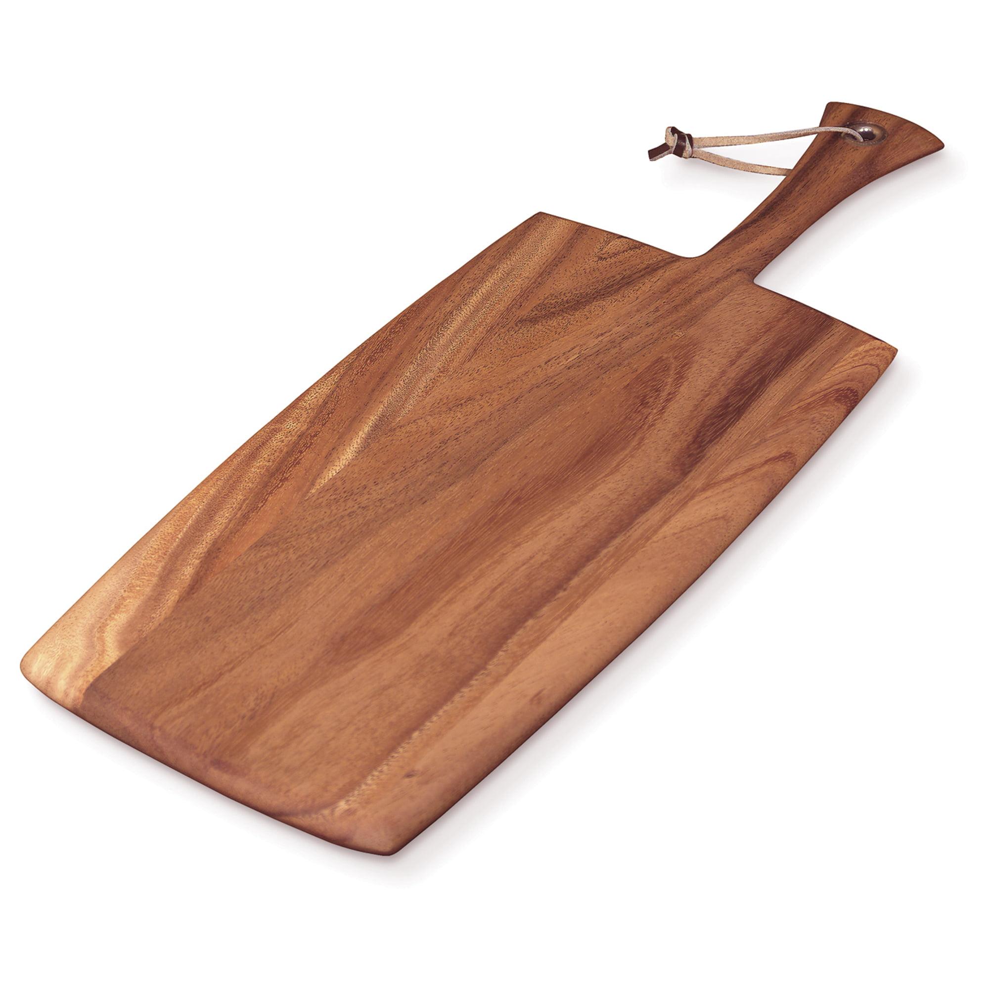 Large Rectangular Paddle Board, Acacia Wood by Fox Run Brands