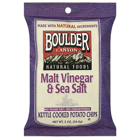 Boulder Canyon Malt Vinegar Sea Salt Kettle Cooked