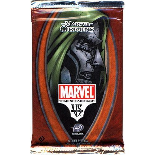 Marvel VS System Trading Card Game Origins Booster Pack