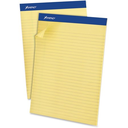 Ampad Legal Pad - Ampad, TOP20270, Basic Slot-perforated Pads, 12 / Dozen