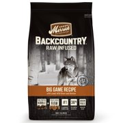 Merrick Backcountry Grain-Free Raw Infused Big Game Recipe Dry Dog Food, 12 lb