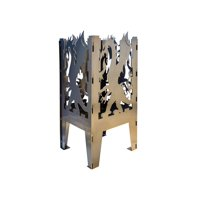 Curonian Dragon Solid Steel Wood Burning Fire Pit