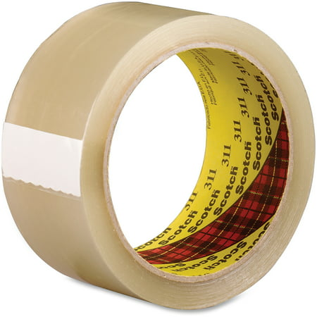 Scotch, MMM31148X100, 311 Box Sealing Tape, 36 / Carton, (Polypropylene Box Sealing Tape)