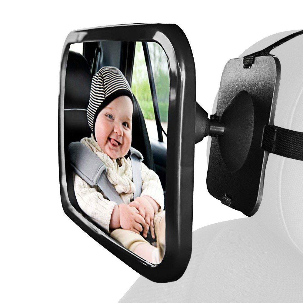 T-Rex Baby Mirror for Car, Rear Facing Car Seat Mirror Baby View Backseat Mirror