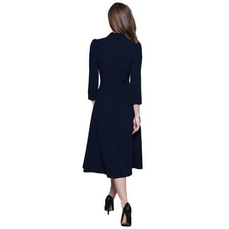 Vintage Style A-line Dress - image 2 de 5