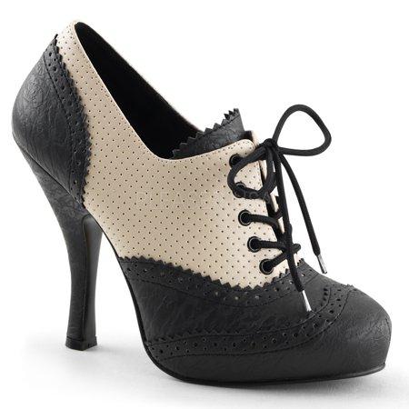 CUTIEPIE-14, 4 1/2 Inch Heel 3/4 Inch Hidden PF Shoes