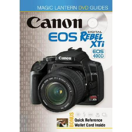 Magic Lantern® DVD Guides: Canon EOS Digital Rebel XTi EOS 400D