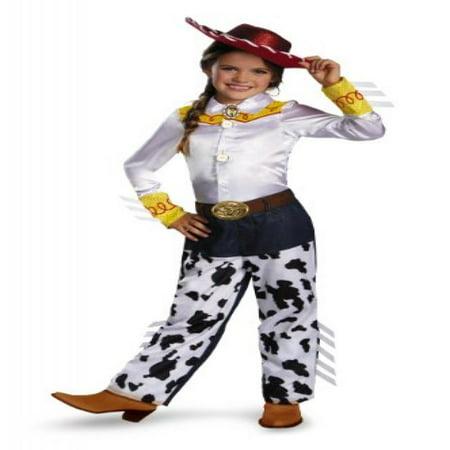 Disguise Disney Pixar Toy Story and Beyond Jessie Prestige Girls Costume, Medium/7-8 - Jessy Costume