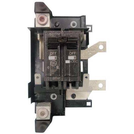 GENERAL ELECTRIC Bolt On Circuit Breaker,100A,2Pole,THQMV THQMV100D