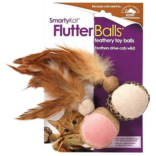 Smartykat FlutterBalls, 2ct
