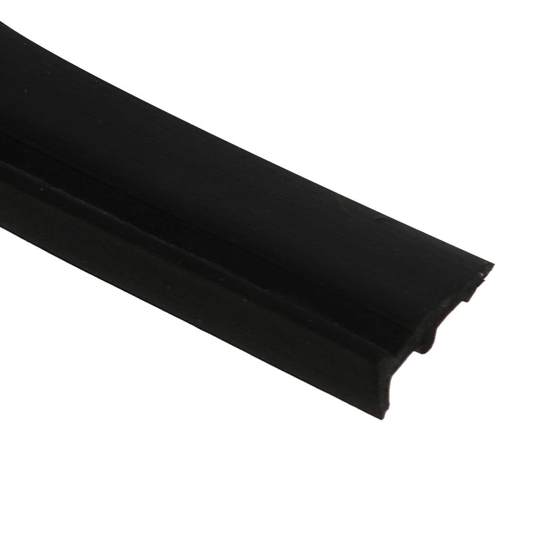 Unique Bargains 2M Length EPDM Rubber Single Side Weather Stripping Black for 2mm-3mm Gap - image 2 de 3