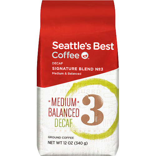 Seattle's Best Decaf Seattle's Best Blend Ground Coffee, 12 oz