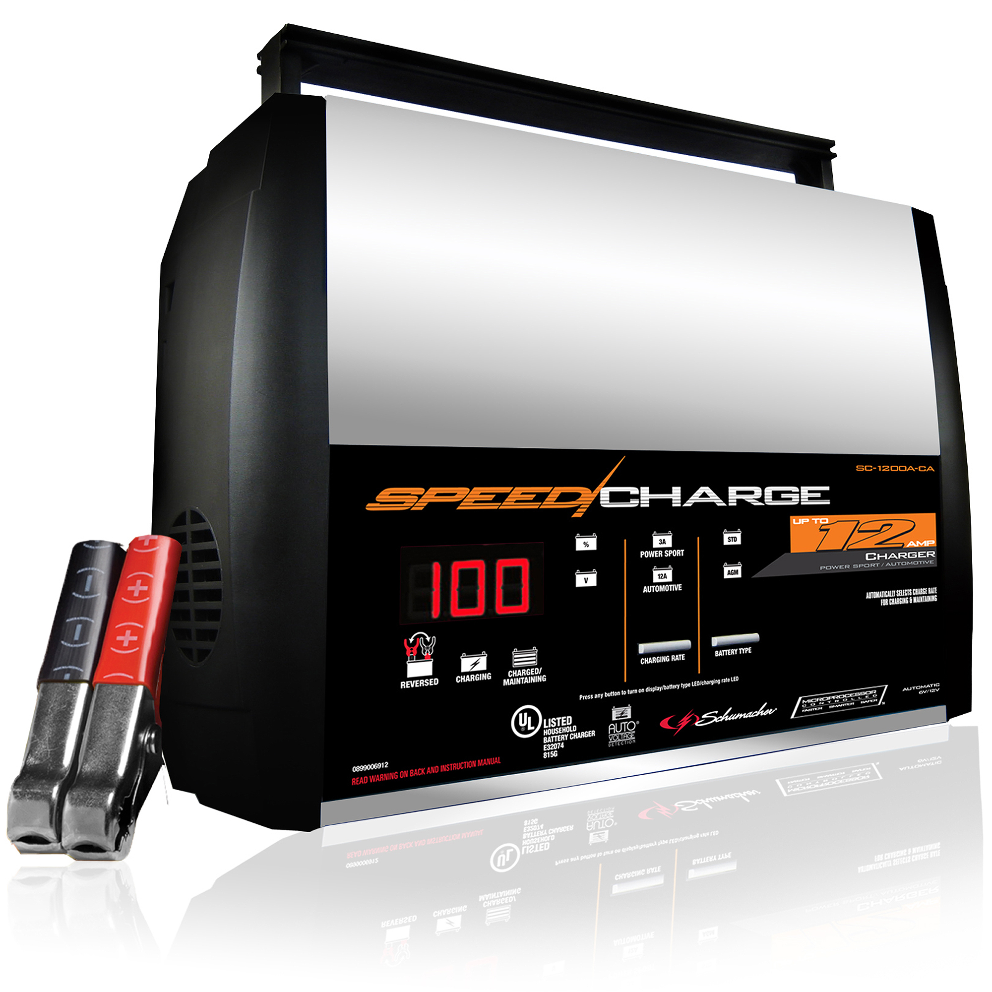 Schumacher SpeedCharge 12-Amp Battery Charger