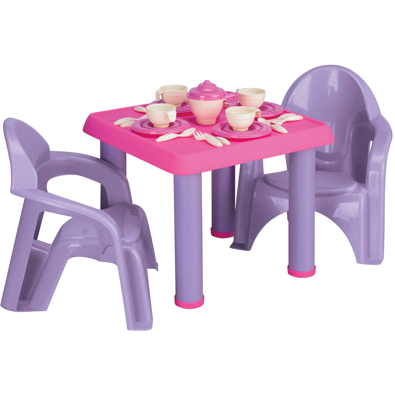 American Plastic Toys - Tea Party Set, 28-Pieces