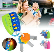 Fancy Baby Musical Toy Car Toy Key Car Voices Imagination Education Toy For Kids,Blue and Pink