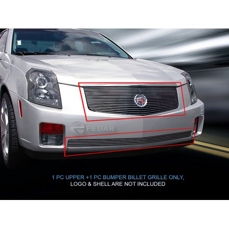 Fedar Billet Grille Combo For 2003-2007 Cadillac CTS ()