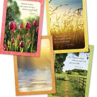 Dayspring Cards 74691 Card Boxed Sympathy Serenity