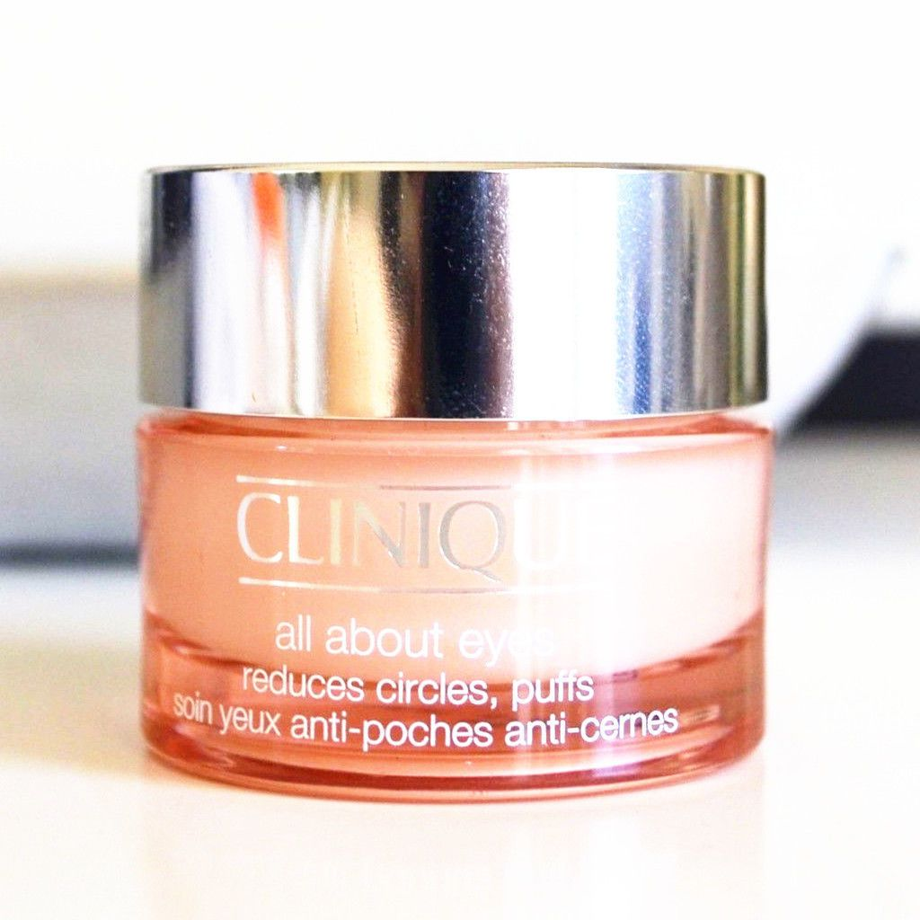 Clinique All About Eyes Reduces Circles Puffs 0.21oz Travel Size