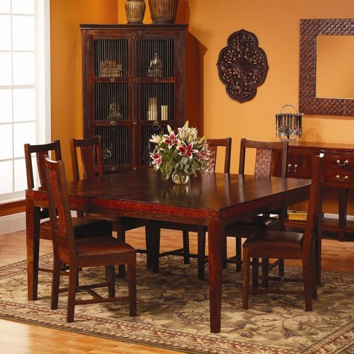 William Sheppee Ltd. SAD038S Saddler Nine Piece Dining Room Set by Friskies