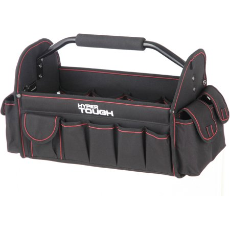 Hyper Tough TT30126D 16-Inch Open Top Tote With Soft Grip - Klein 16 Canvas Tool Bag