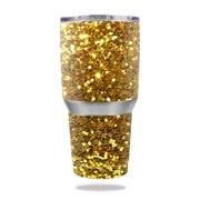 Skin Decal Wrap for Ozark Trail 30 oz Tumbler Gold Glitter