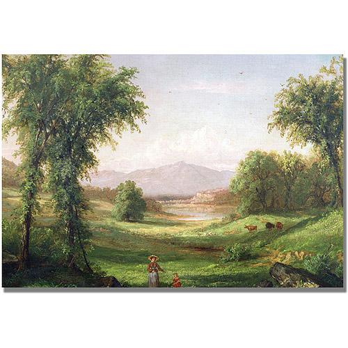 "Trademark Fine Art ""New Hampshire Landscape"" Canvas Wall Art by Samuel Colman"