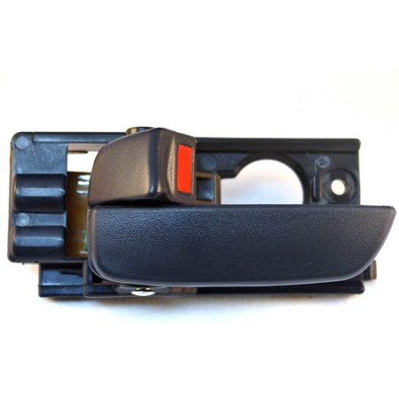 PT Auto Warehouse HY-2235E-FL - Inner Interior Inside Door Handle, Gray - 4-Door Sedan, Driver Side Front