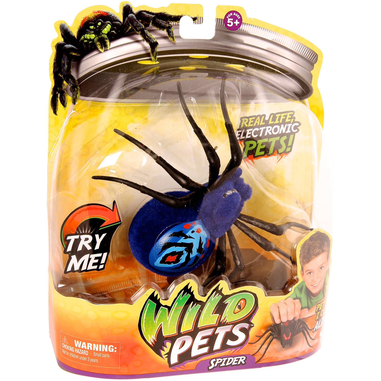 Moose Toys Wild Pets Season 1 Spider Single Pack Chiller