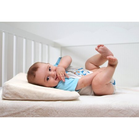 My First Crib Wedge CertiPUR-US Memory Foam Crib Wedge ()