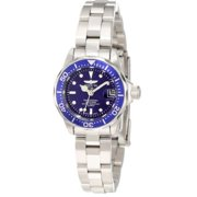 Invicta 9177 Pro Diver Lady Blue Dial Quartz 3H Stainless Steel Watch