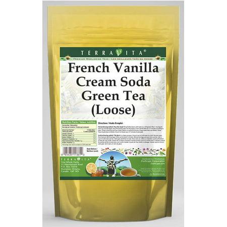 French Vanilla Cream Soda Green Tea (Loose) (8 oz, ZIN: 536799) (Vanilla Tea Loose Leaf Mahamosa)