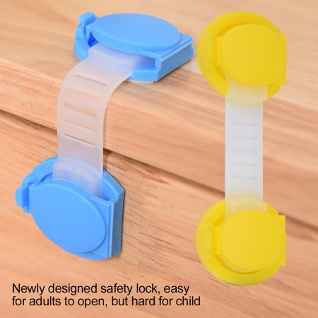 Safety Lockfosa 6pcs Baby Safety Cabinet Door Lock Wardrobe Drawer