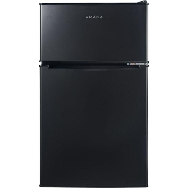 Amana AMAR31TBKE 3.1 Cf Compact Refrigerator Freezer Section