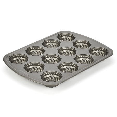GoodCook 12-cup Mini Fluted Cake Pan,