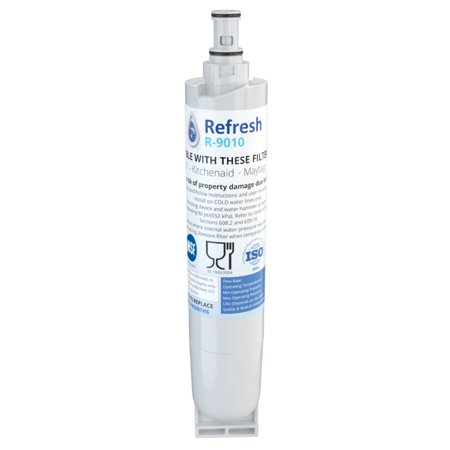 Replacement For Kenmore 9010 Refrigerator Water Filter - by Refresh (Water Filter Refrigerator 9010)