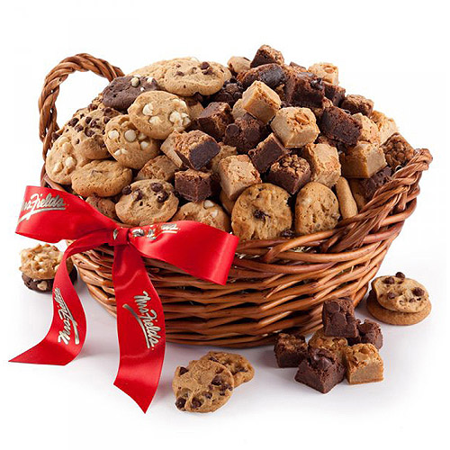 Mrs. Fields Goodies Basket With Special