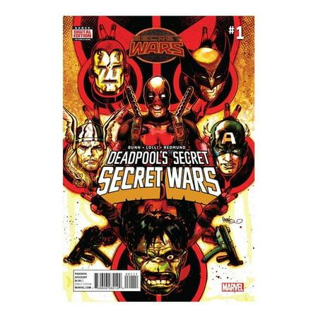 Deadpools Secret Secret Wars #1 (of 4) Comic Book, By Marvel Comics (Deadpool Comic 1)