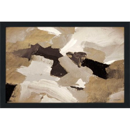 Orren Ellis Muted Abstract Ii Framed Acrylic Painting
