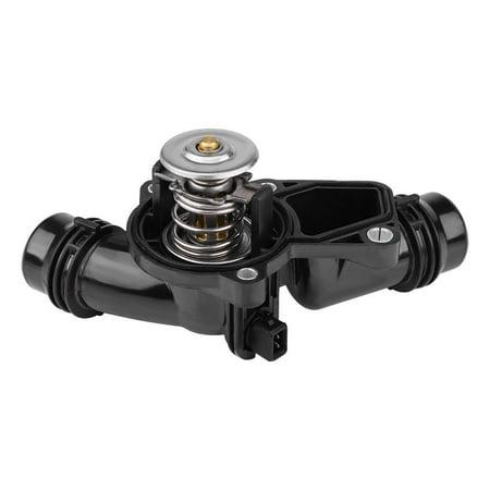 Bmw 325i Thermostat - LAFGUR Car Thermostat Assembly with Sensor for BMW E39 E46 Z3 Z4 X5 X3 325i 330i 525i 530i, Thermostat with   Sensor, Thermostat