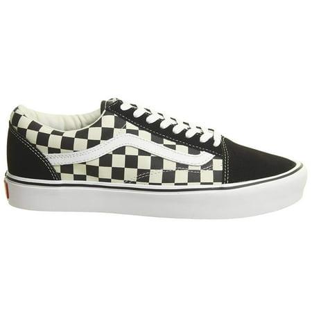 e843a3b08c Vans - Vans VN-0A2Z5W5GX  Mens Old Skool Lite Black White Checkerboard (9.5  D(M) US Men) - Walmart.com