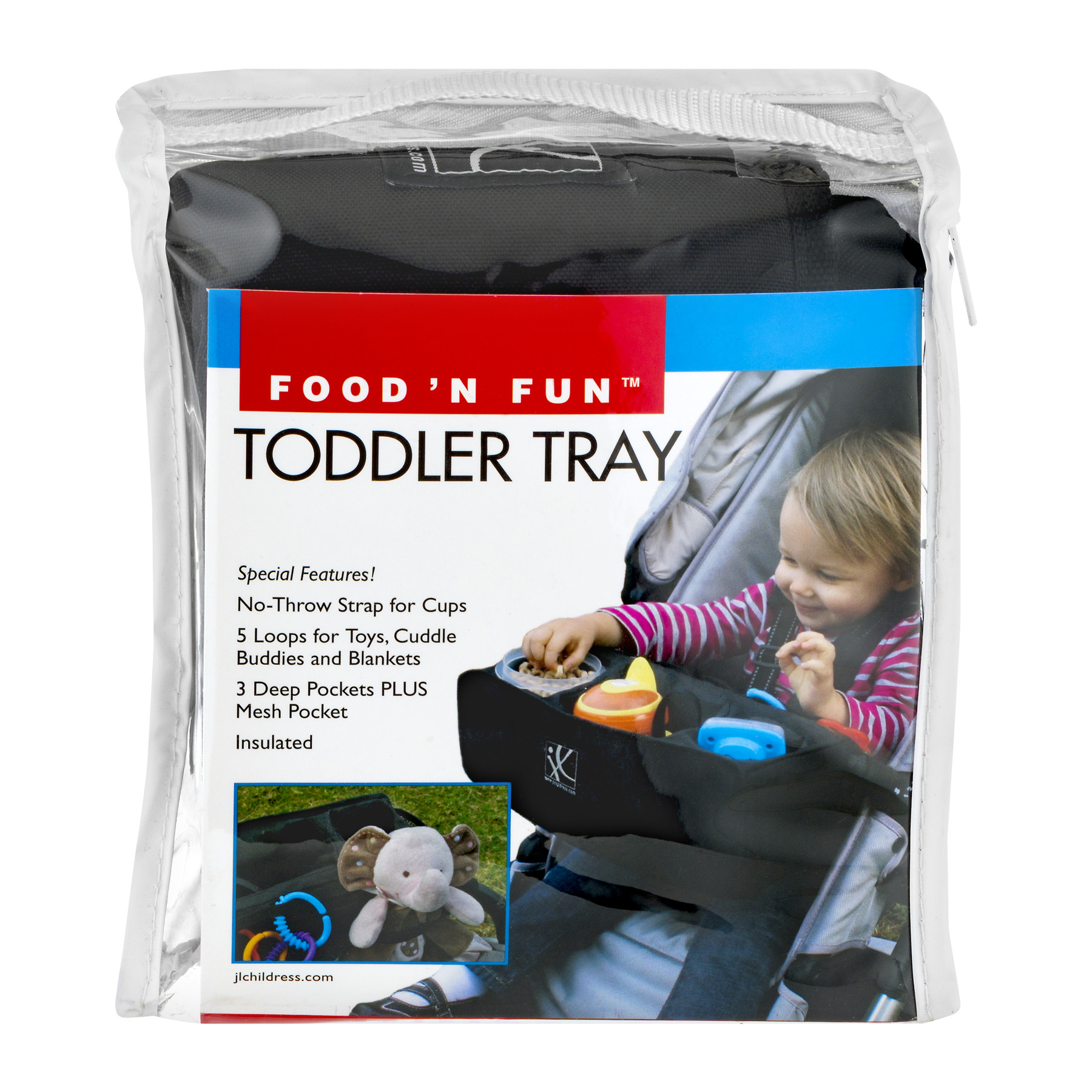 Food 'N Fun Toddler Tray, 1.0 CT