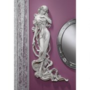 Design Toscano Flora, Goddess of Springtime Wall Sculpture