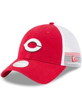 3dd8cb07d16 Product Image Cincinnati Reds New Era Women s Trucker Shine 9TWENTY  Adjustable Hat - Red - OSFA